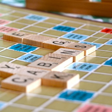 Enjoy scrabble and other board games in your cabin