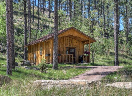 Cabin 2 Exterior 2018 spring