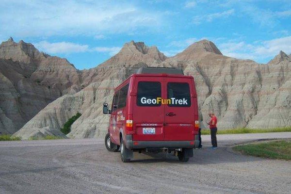 GeoFunTrek Van